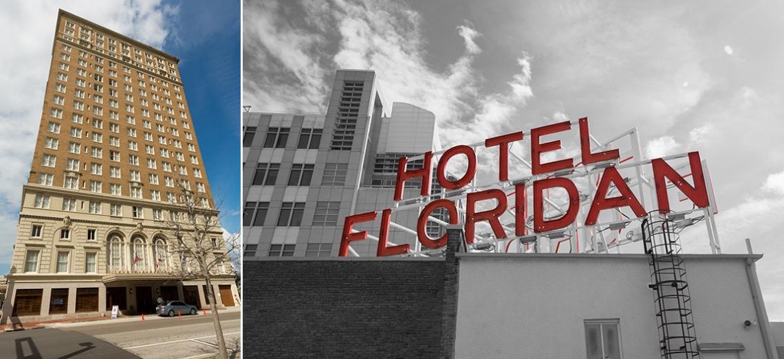 Floridian palace hotel wedding